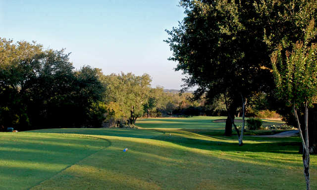 A view of hole #13 at Delaware Springs Golf Course.