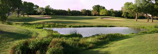 View of a green at Willow Springs Golf Course