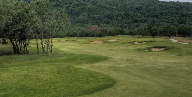 A view of a fairway from The Club At Concan