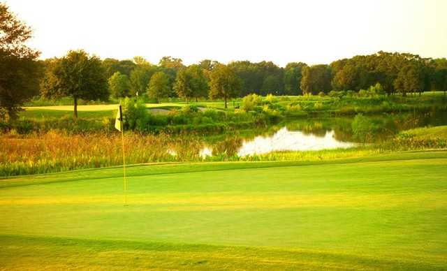 A view of the 2nd green at South Course from BlackHorse Golf Club