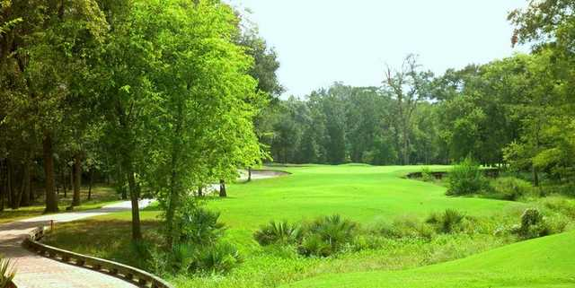 A view of the 6th hole at North Course from BlackHorse Golf Club