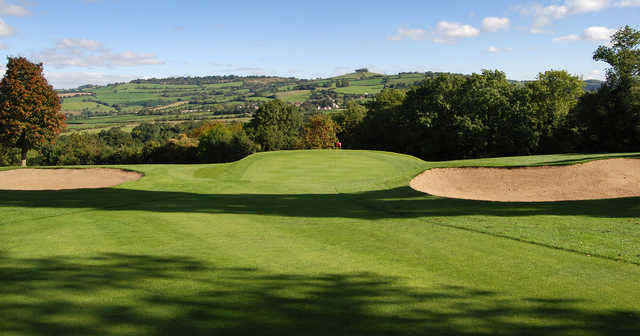 View of the 14th hole at Saltford Golf Club