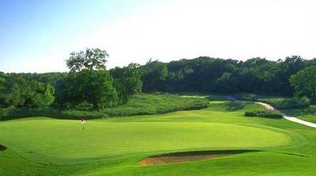 A view of the 3rd green at Texas Star Golf Course