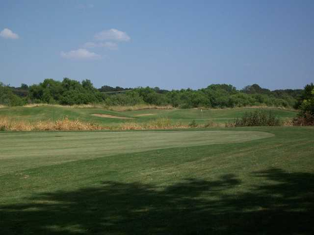 A view of the 8th hole at Waterchase Golf Course