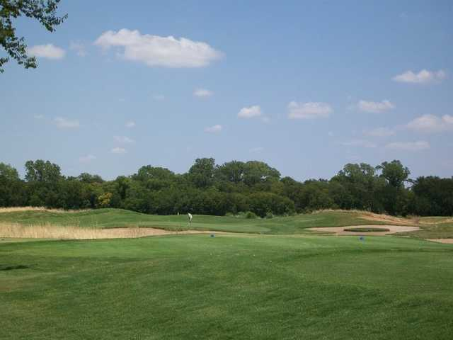 A view of hole #16 at Waterchase Golf Course