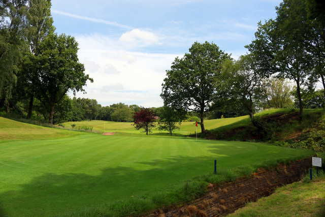 View of a green at Ellesmere Golf Club