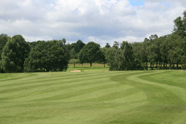 View of a fairway at Ellesmere Golf Club