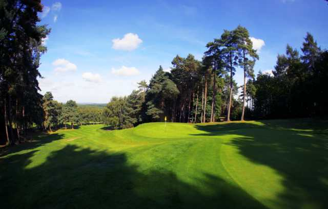 View of the 15th hole at Old Thorns Manor Hotel, Golf & Country Estate