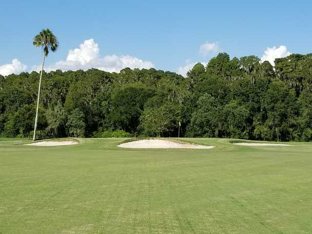View of the 4th hole at Bartow Golf Course