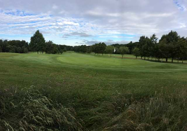 View of a green from Cowglen Golf Club