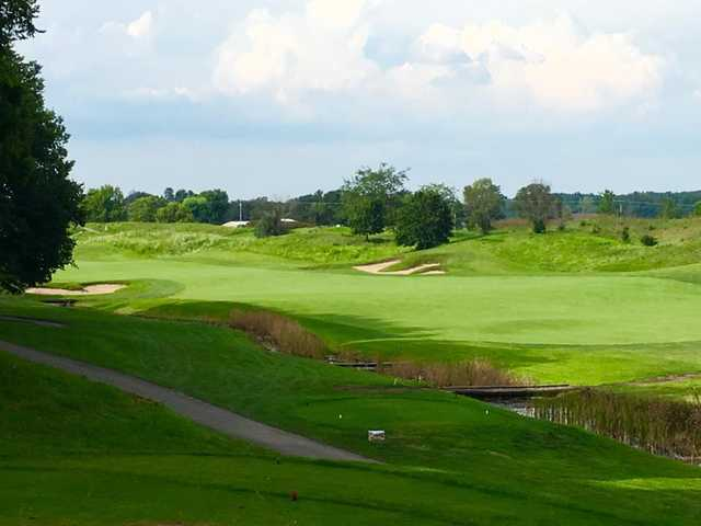 A view from Cooks Creek Golf Club