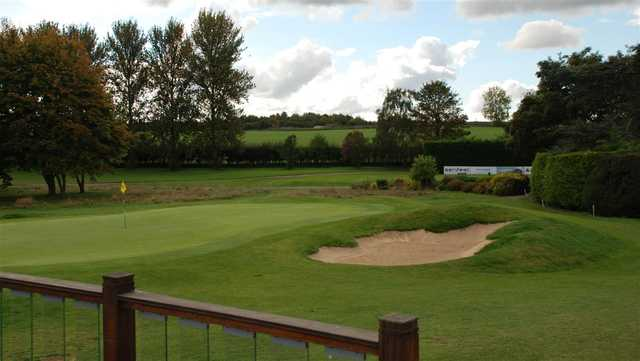 A view of a green from Bury St Edmunds Golf Club