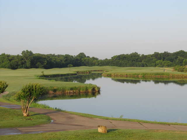 A view from Riverside Golf Club