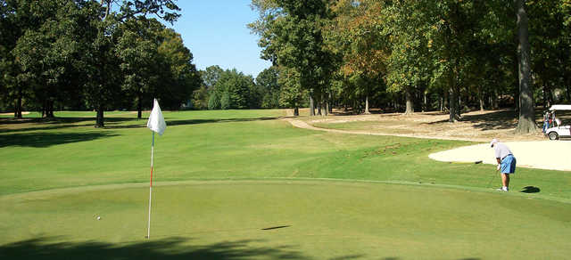 A view from a green at Paris Country Club