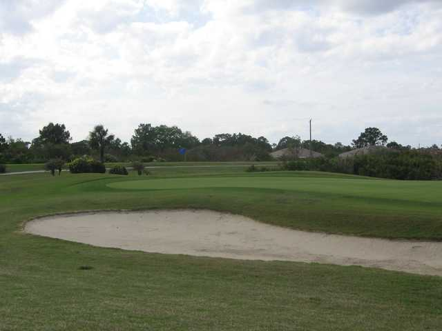 View of a green at Westminster Golf Club