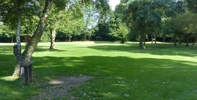 View of the 16th green from Ramsey Golf & Bowls Club