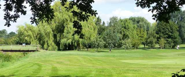View of the 8th green from Ramsey Golf & Bowls Club