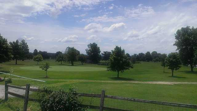 A view from Dayton Ridge Golf Club