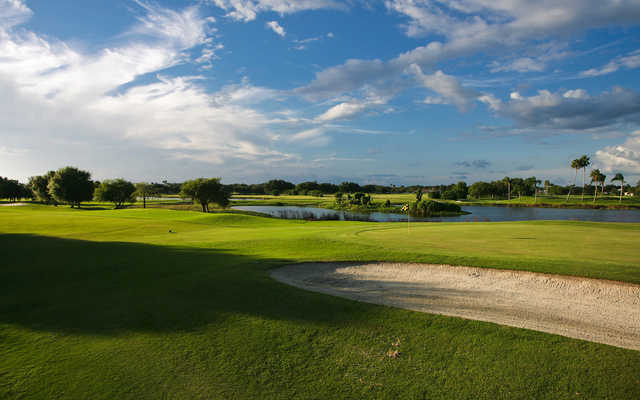 A view of a green at Serenoa Golf Club