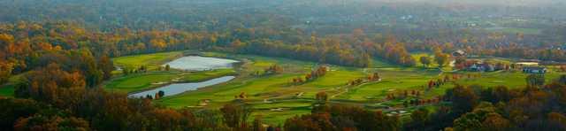 Aeria view of Plum Creek Golf Club