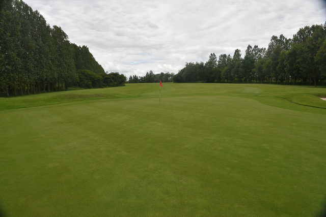 View of a green at Heworth Golf Club