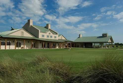 A view of the clubhouse at Star Ranch Golf Course
