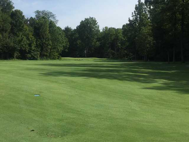A view of a hole at Wildcat Creek Golf Course.