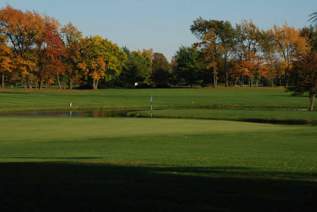 A fall view from Heron Creek Golf Club.