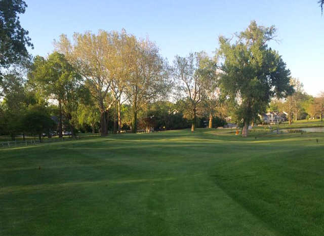 A view from a fairway at Steve Hogan Golf Course (David Joekel).