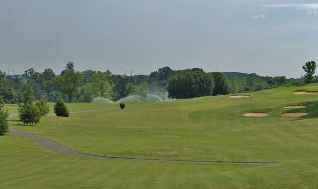A view of a fairway at Nolichucky View Golf Club (Powellauction).