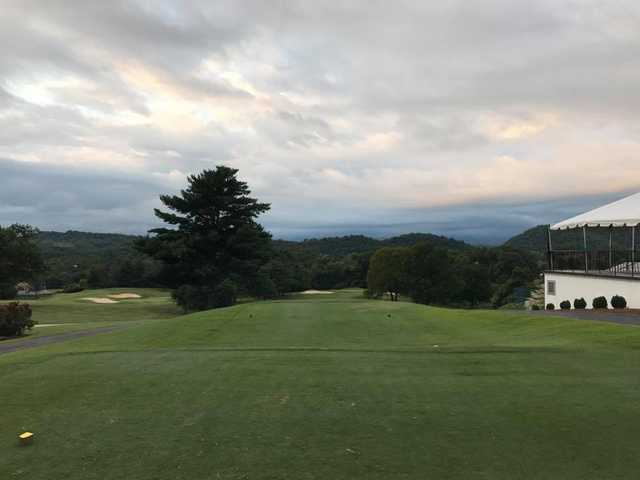 A morning day view from tee #16 at Johnson City Country Club.