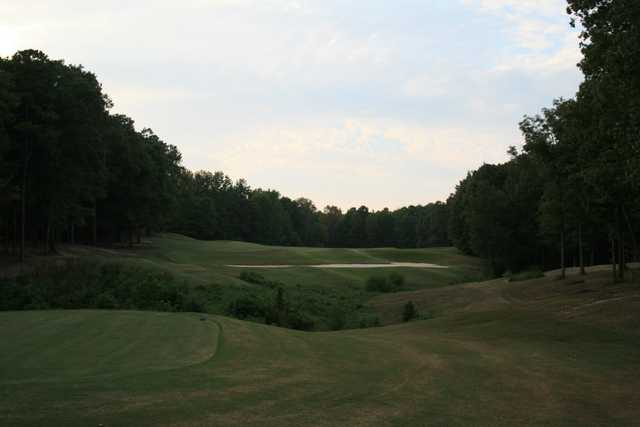 A view from the 13th tee at Shiloh Falls Golf Club.