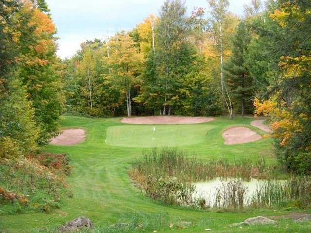 A view from tee #13 at Ross' Teal Wing Golf Club.