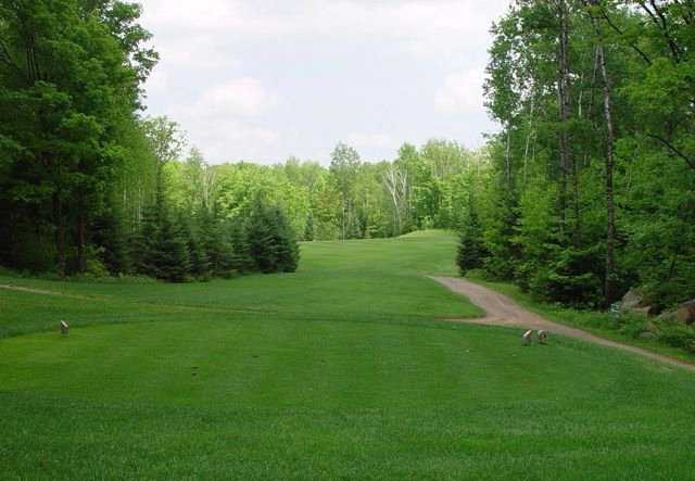A view from tee #14 at Ross' Teal Wing Golf Club.
