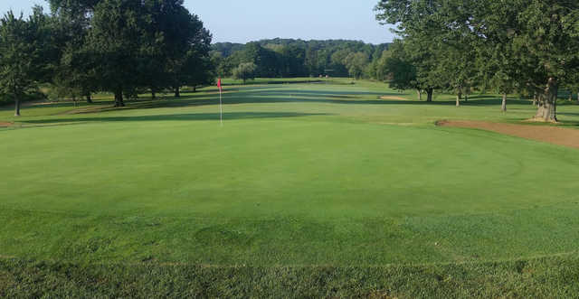 A view of hole #4 at Huntingburg Country Club (David Townsend).