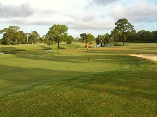 A view of a hole at Lemon Bay Golf Club (Mark Wakelin).
