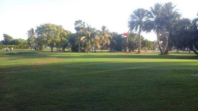 A view of the 1st hole at Key Colony Beach Golf & Tennis.
