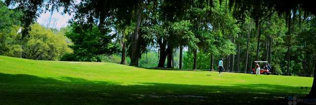 A view of a hole at Suwannee Country Club.