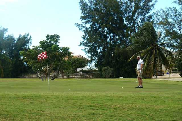A view of a hole at Florida Keys Country Club.