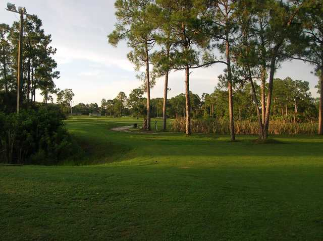 A view from Jo Daddy's Golf Course.