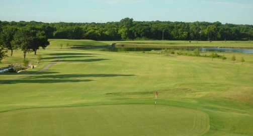 A view of a green at Country View Golf Club