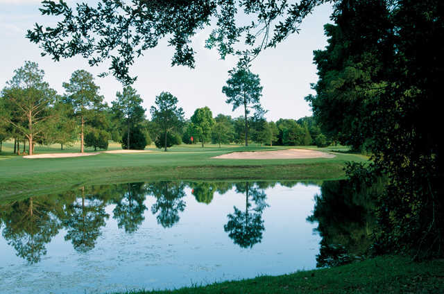 A view of green #8 at South from Killearn Country Club & Inn.