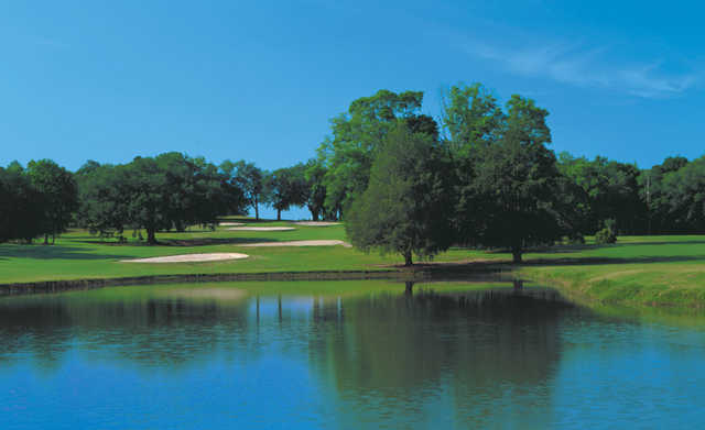 A view of green #8 at North from Killearn Country Club & Inn.