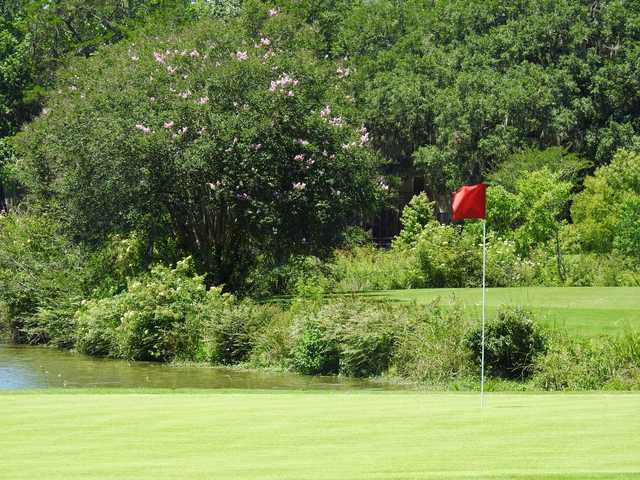 A view of green #12 at Hilaman Golf Course.
