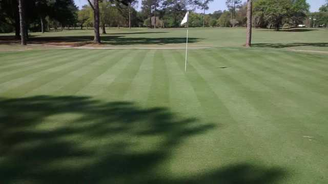 A view of hole #8 at Jake Gaither Municipal Golf Course.