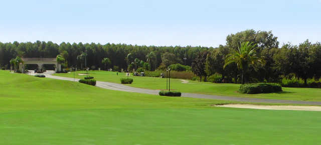 A view from Four Lakes Golf Club.