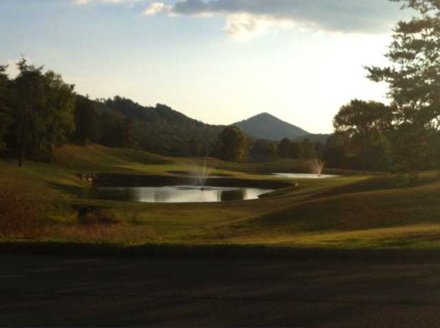 A view from Woodlake Golf Club.