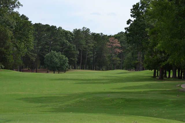 A view of fairway #10 at Garden Valley Golf Resort - Dogwood Course