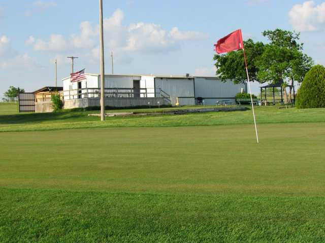A view of a hole at Benbrook 3 Par.