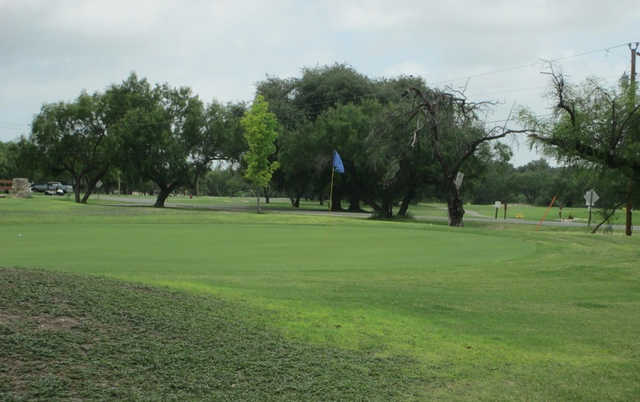 A view of hole #9 at Fort Clark Springs Golf Club.